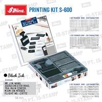 Shiny Printing Kit S-600 1