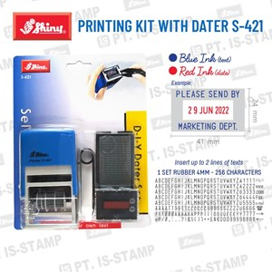 Shiny Printing Kit S-421