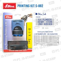 Shiny Printing Kit S-882 1