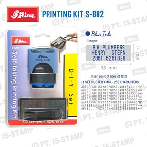 Shiny Printing Kit S-882