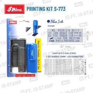 Shiny Printing Kit S-773