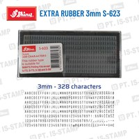 Shiny Extra Rubber 3Mm S-623 1