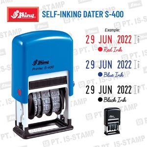 Shiny Self-Inking Dater S-400