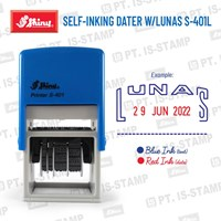 Shiny Self-Inking Dater W/Lunas S-401L 1