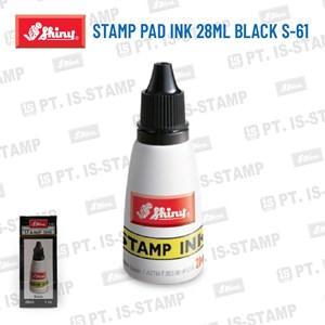 Shiny Stamp Pad Ink 28Ml Black S-61
