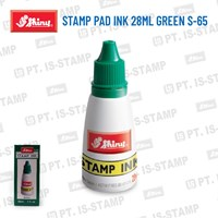 Shiny Stamp Pad Ink 28Ml Green S-65 1