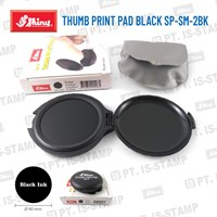 Shiny Thumb Print Pad Black Sp-Sm-2Bk 1