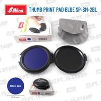 Shiny Thumb Print Pad Blue Sp-Sm-2Bl 1