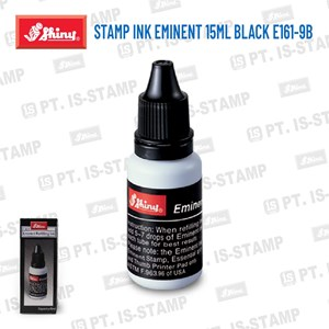 Shiny Stamp Ink Eminent 15Ml Black E161-9B