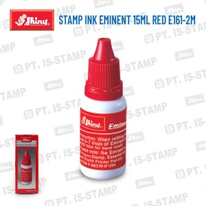Shiny Stamp Ink Eminent 15Ml Red E161-2M