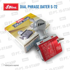 Shiny Dial Phrase Dater S-72