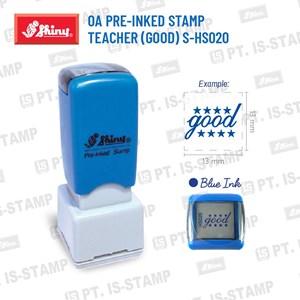 Shiny Oa Pre-Inked Stamp Teacher (Good) S-Hs020