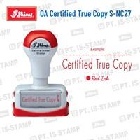 Shiny Oa Certified True Copy S-Nc27 1