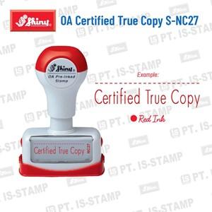 Shiny Oa Certified True Copy S-Nc27