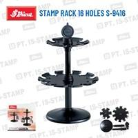 Shiny Stamp Rack 16 Holes S-9416 1