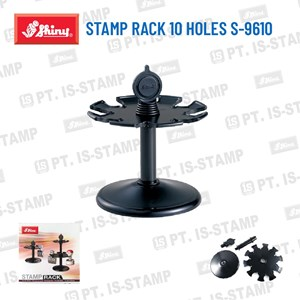 Shiny Stamp Rack 10 Holes S-9610