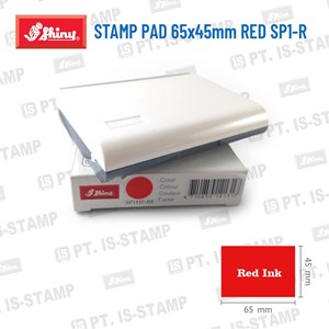 Shiny Stamp Pad 65X45mm Red Sp1-R