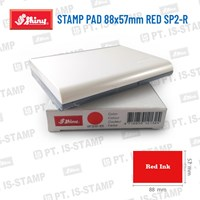 Shiny Stamp Pad 88X57mm Red Sp2-R 1