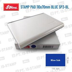 Shiny Stamp Pad 110X70mm Blue Sp3-Bl