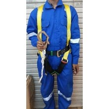 Body Harness Atau Safety Harnes GOSAVE Single Hook