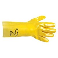Chemical Protective Glove PVC Gauntlet 16CIG6416YLW 1