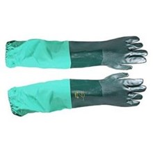 Chemical Protective Glove Extended PVC Glove 16CIGSM64221