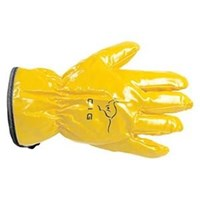 Chemical Protective Glove Nitrile Leather Driver Glove 1