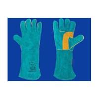 Welding Gloves Green Gold 16CIG6460 1