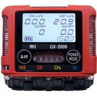 Distributor Gas Detector GX 2009 ( Multi Gas : H2S. CO. CH4. O2 ) 3