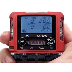 Gas Detector GX 2009 ( Multi Gas : H2S. CO. CH4. O2 )