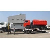 Jual Self loader with hydraulick jack dan winch 2