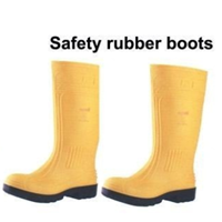 Sepatu Safety Rubber Boots