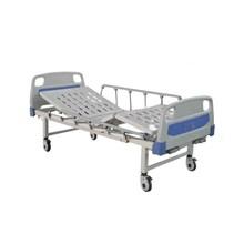 Tempat tidur pasien + Matras 2 crank shella