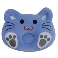 Hokina New Born Pillow Cat Blue