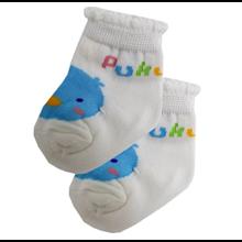 Puku New Born Sock Light Blue