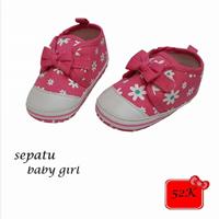 Jual Sepatu Bayi Prewalker Baby Gril - Flowerry