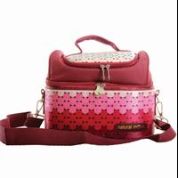 Jual Cooler Bag Natural Mom - Polka Sling Series