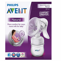 Pompa ASI Breast Pump Philips Avent Natural Comfort - Manual