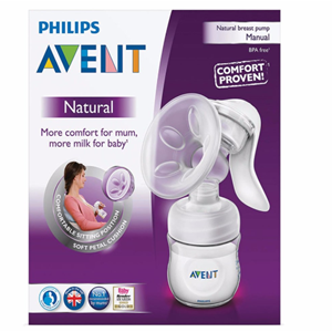 Breast Pump Philips Avent Natural Comfort - Manual