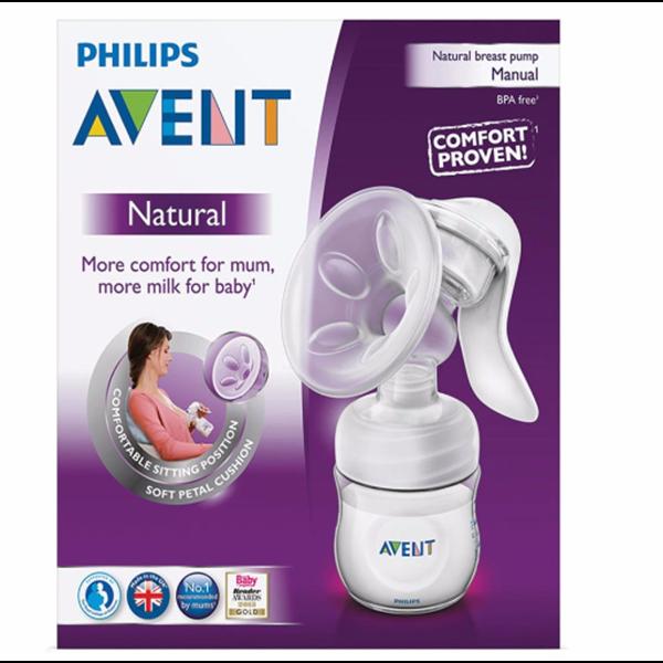 Pompa ASI Breast Pump Philips Avent Natural Comfort - Manual