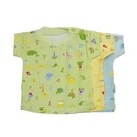 Distributor Kaos Oblong Bayi Vinata Full Print Zoo Size L isi 6 3