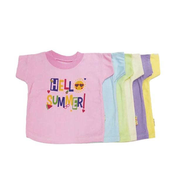 Baby T-Shirt Vinata PrintedSize M (6 pcs)