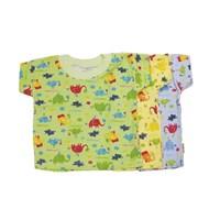 Kaos Oblong Bayi Vinata Full Print Zoo Size S isi 6 1