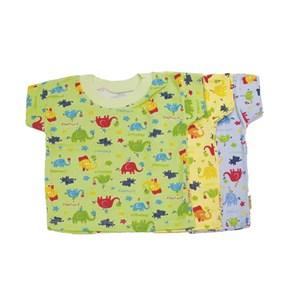 Kaos Oblong Bayi Vinata Full Print Zoo Size S isi 6