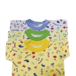 Kaos Oblong Bayi Vinata Full Print Ocean Size XL isi 6