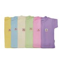 Distributor Kaos Oblong Bayi Vinata Motif Polos  Size M isi 6 3
