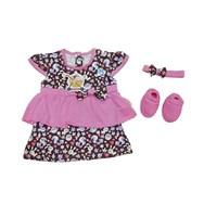 Beli Baju Bayi Dress Anak Vinata  VO - OWL 4