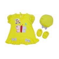 Distributor Baju Bayi Dress Anak Vinata VO - BUTTERFLY 3