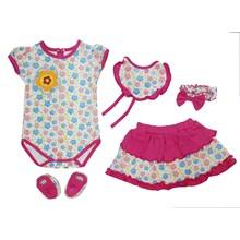 Pakaian Bayi Jumper Viinata Dev Vr - Flowery Set