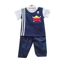 Pakaian Bayi Setelan Bayi Vinata Dev Ve - Baseball Polka